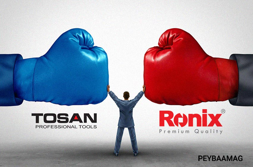 مقایسه رونیکس و توسن