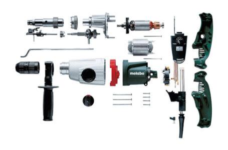 لوازم یدکی مورد نیاز ابزار برقی، آشنایی و راهنمای تعمیرات